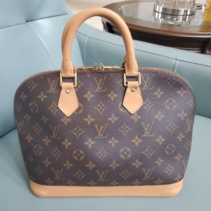 Louis Vuitton Alma PM  Monogram leather